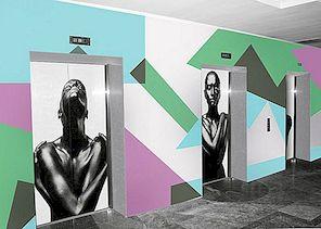 Kunstiline lift murranguliste visuaalselt häirivate töödega PIXERSi poolt