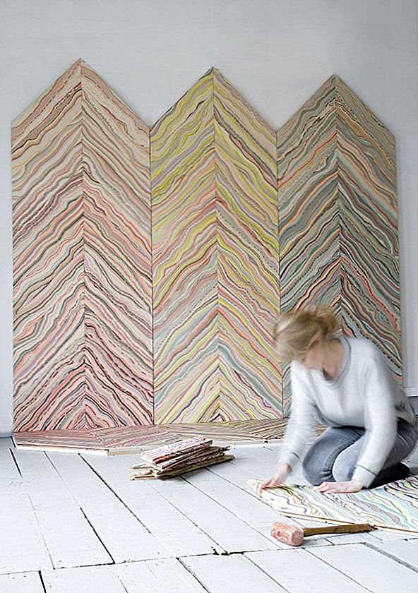 Colorful Floor & Wall Patterns by Pernille Snedker Hansen [Video]