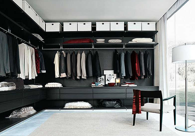 Imponerende, men Elegant Walk-In Closet Ideas