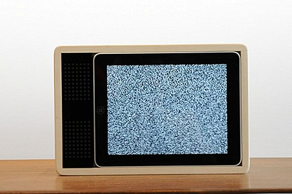 iPad Turned into a 1980's TV: Crazy or Practical?