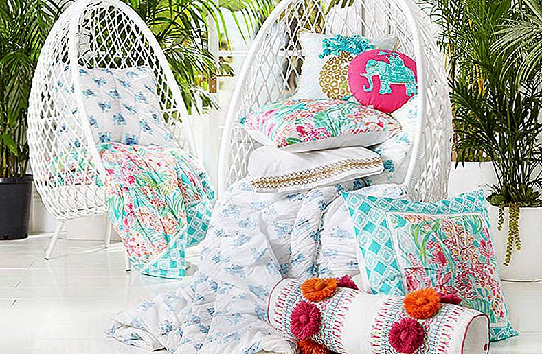 Nieuwe Lilly Pulitzer en Pottery Barn Collab: Sunshine, Flamingo's en Tropical Happiness