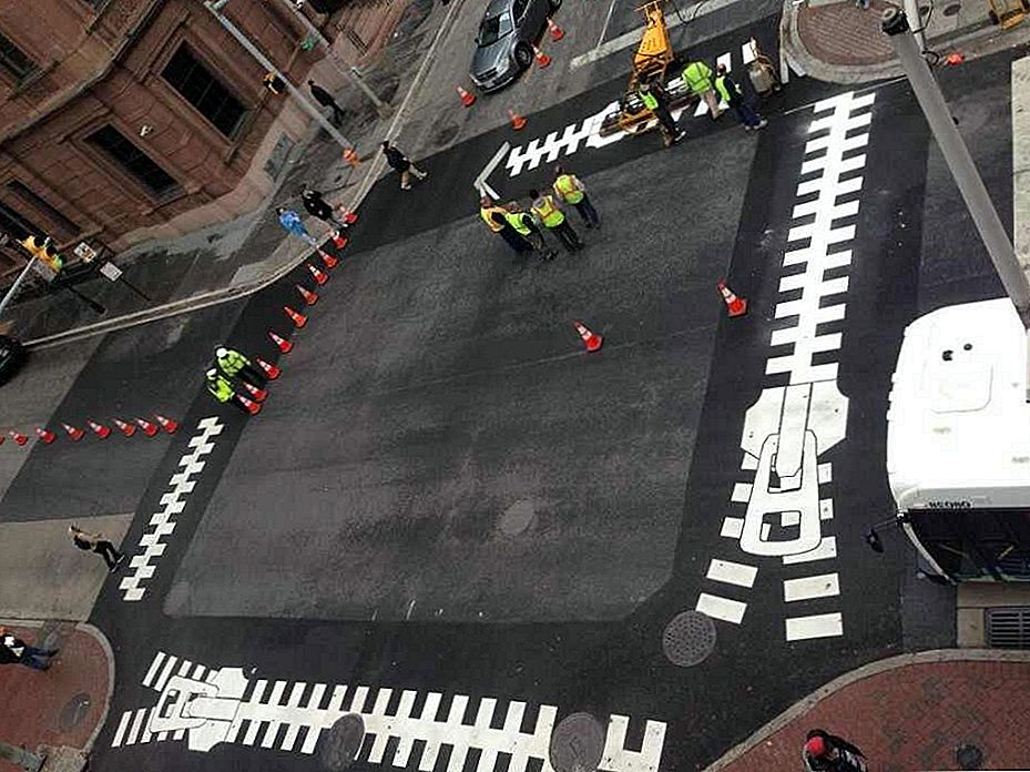 Reinventing Pedestrian Street Walkways: Artistic Crosswalks i Baltimore