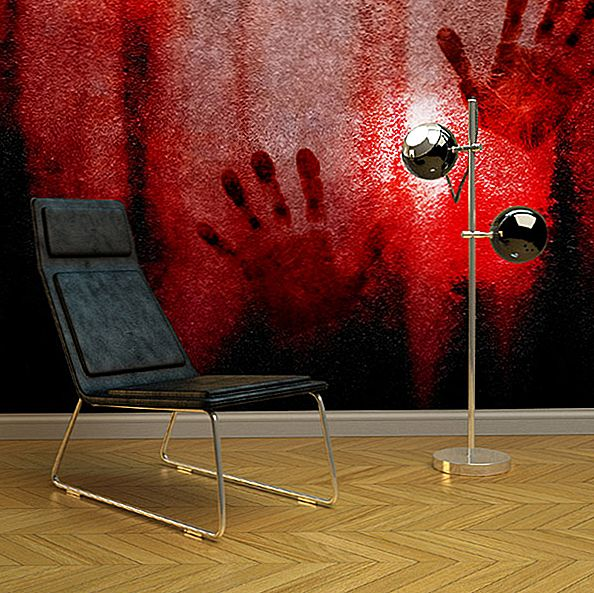 Terrifyingly Originaal: Polanski inspireeritud verine Moon Wall Murals by PIXERS