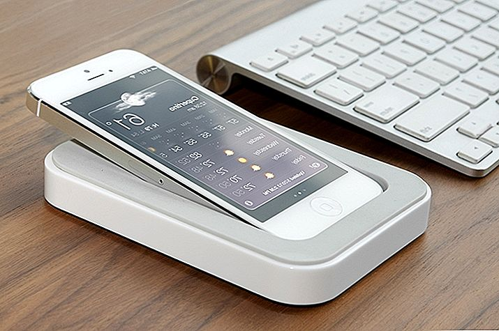 Ultimate iPhone-Charging Dock: Saidoka, ki ga Bluelounge