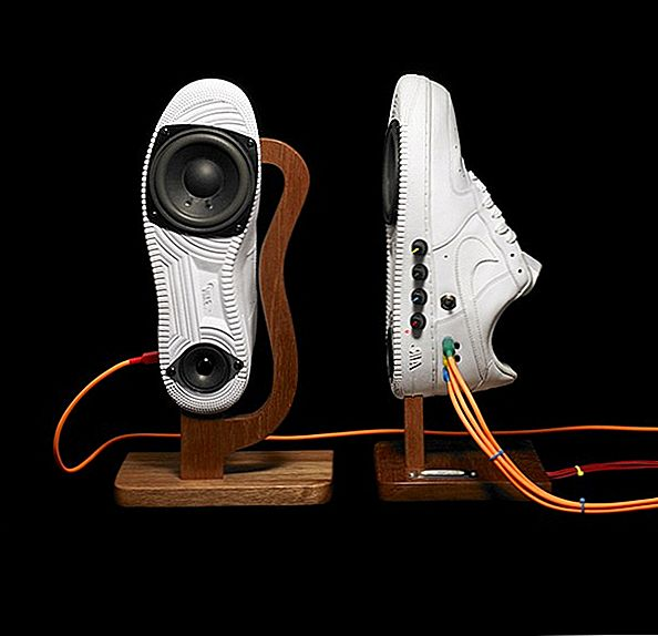 Walk the Talk: Air Force 1s Turned into Sneaker Speakers av Nahmoney