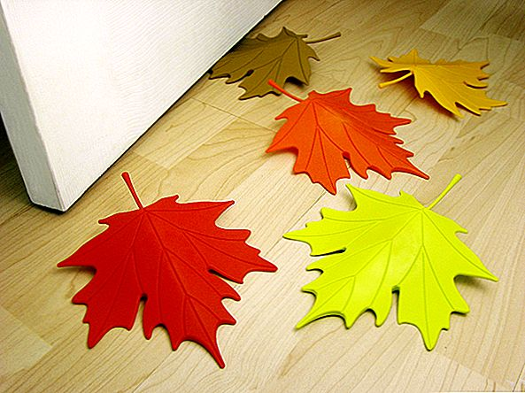 """Beautiful"" ""Leaf Doorstops by Qualy"""
