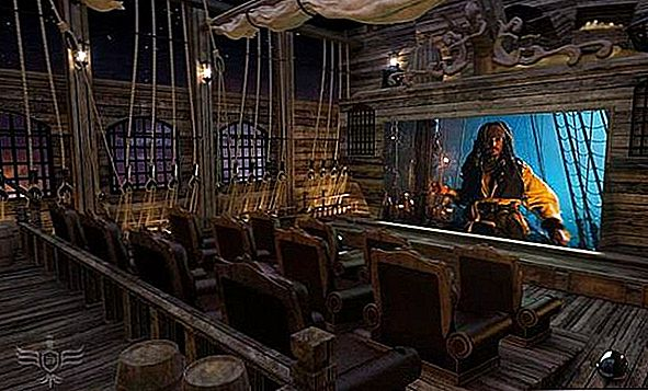 Pirates Themed Theatre värd $ 2,5 miljoner