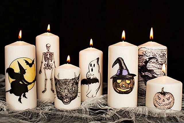 10 näpunäiteid Creepiest Halloween Candles