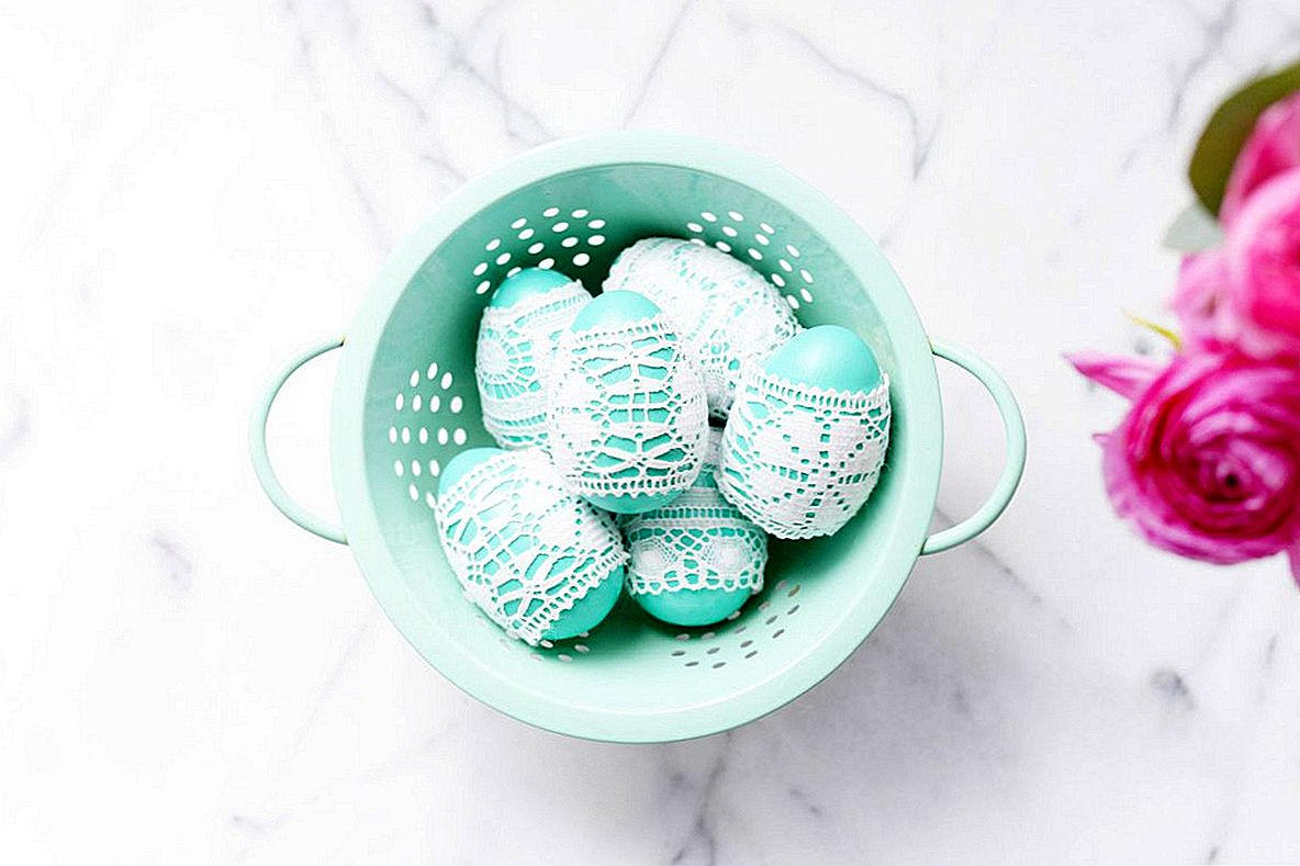 DIY Lace Easter Munad