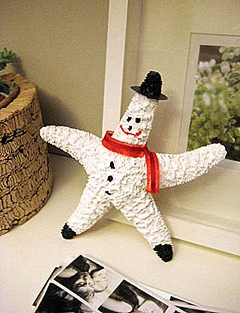 Easy Holiday DIY Snowman