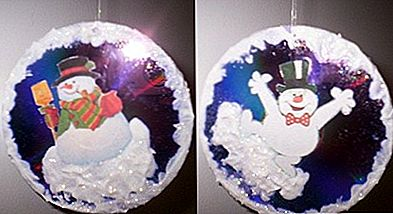 Joyful Snowman CD jõulupuu ornament