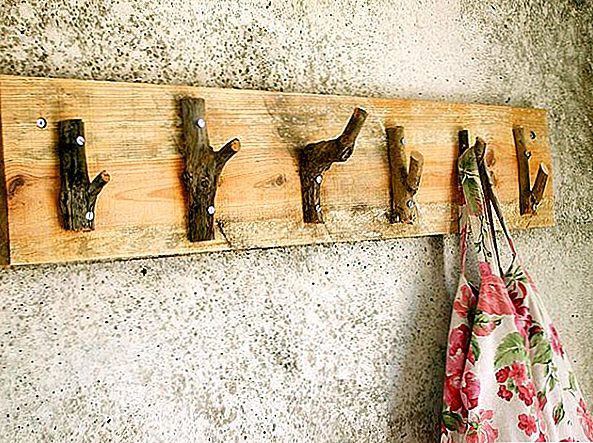Rustic DIY Rough Looking Coat Hanger