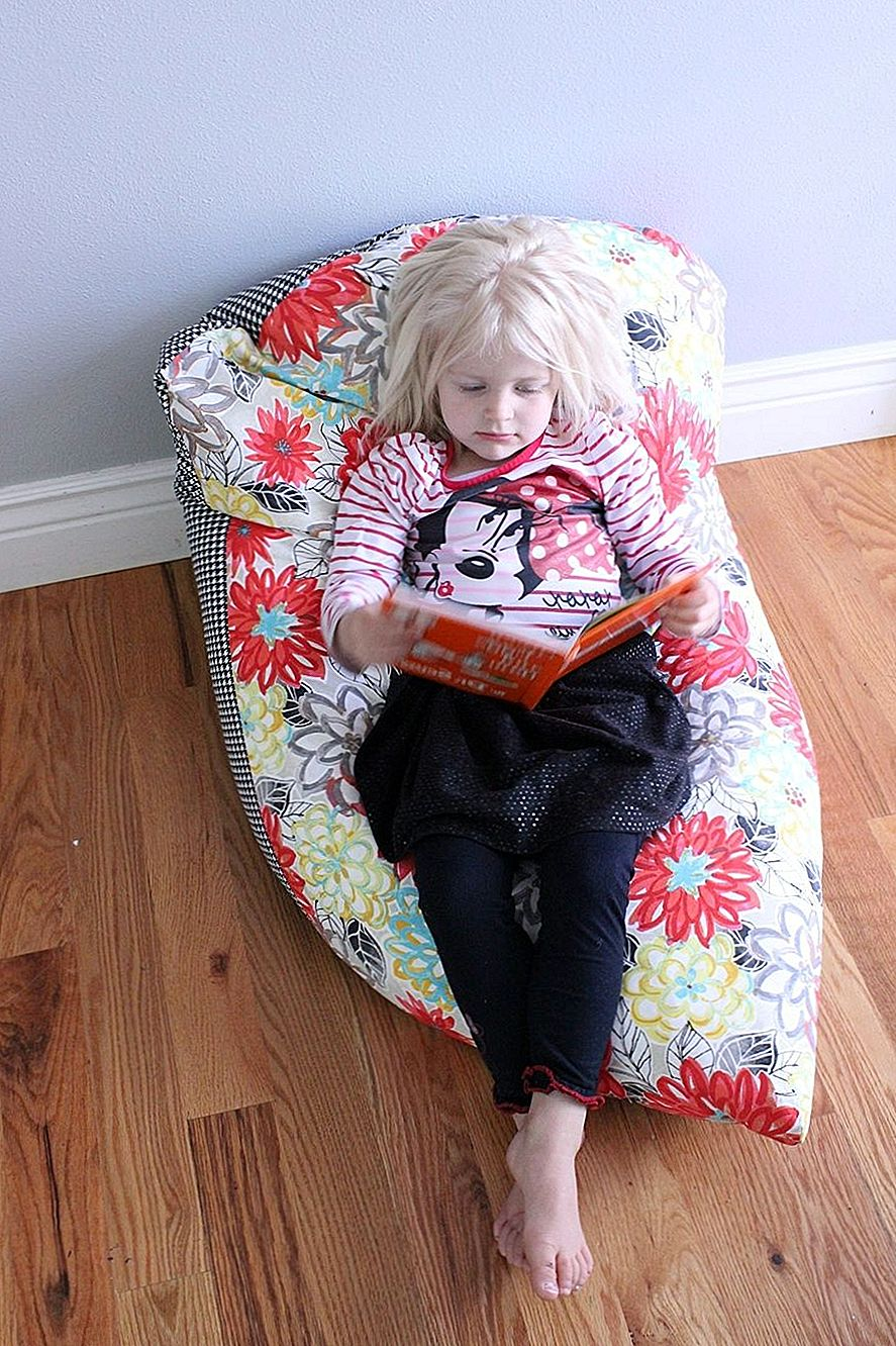 Super Simple DIY Kids Bean Bag Chair: Step-by-Step Tutorial