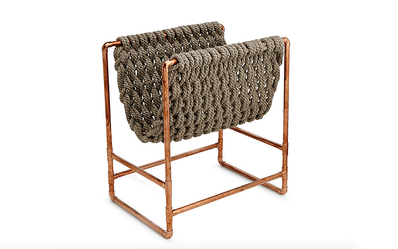 Värske allikas: Recycled Rope Magazine Rack