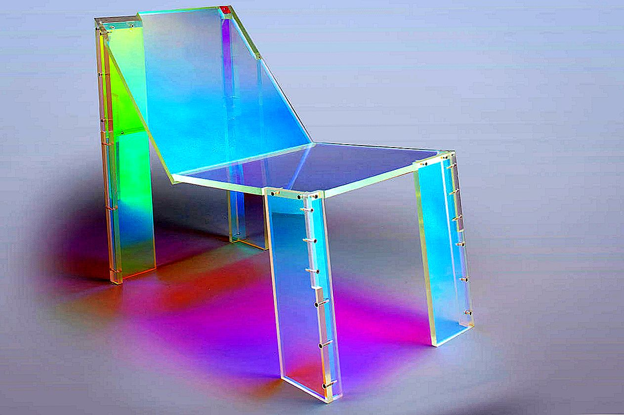 Neon Ghost Chair, iedvesmots no Daft Punk