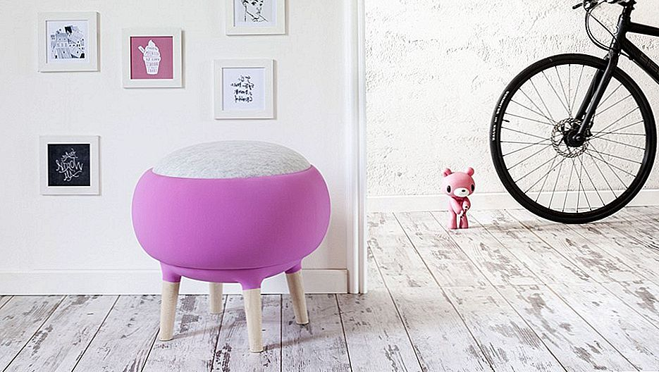 Cute Pouf You Can Make a Mistake for half-shorn Aries: Cora by Manrico Freda