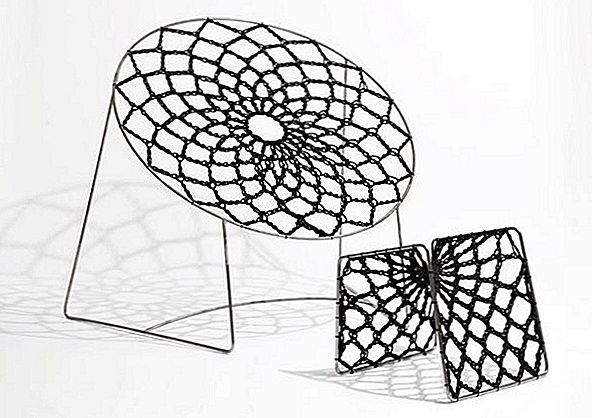 Knits and Weaves Chair by Henry Sgourak