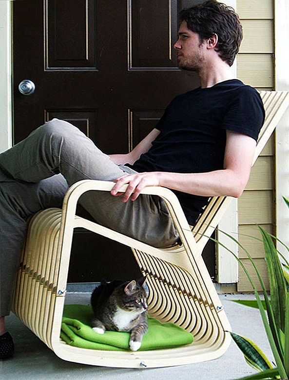Pet og Person, Rocking-2-Gether I Patent-Pending Chair