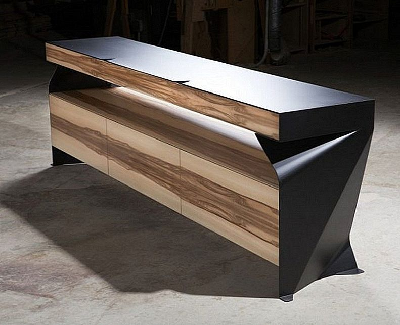 Statement Furniture Piece For Contemporary Decors: C1 Credenza