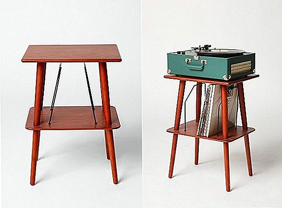 Mid-century-inspired Manchester Media Stand
