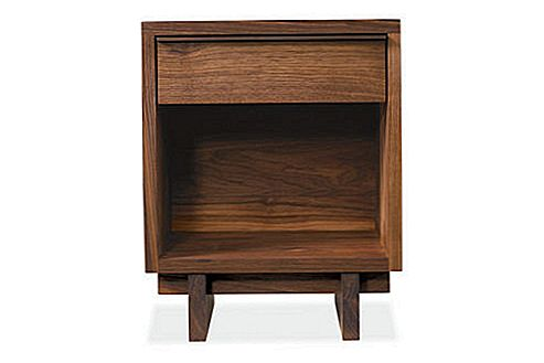 Kompaktne Anders One-Drawer Nightstand