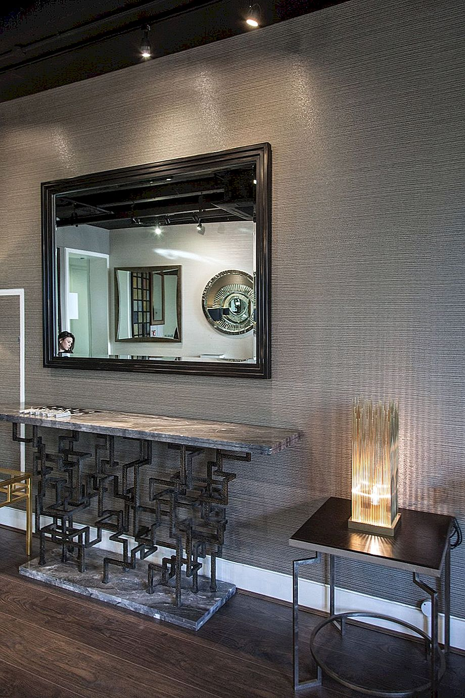 The Entryway Mirror - Star Of A Welcoming Home