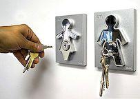 Zijn en haar sleutelhouder