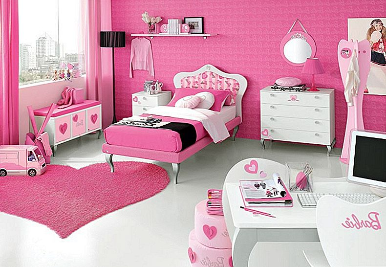 Barbie tema hotellrum