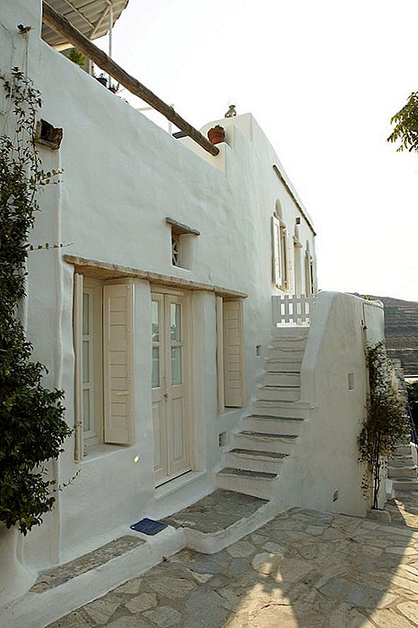 Charmant privé-huis in Tinos door Zege architects
