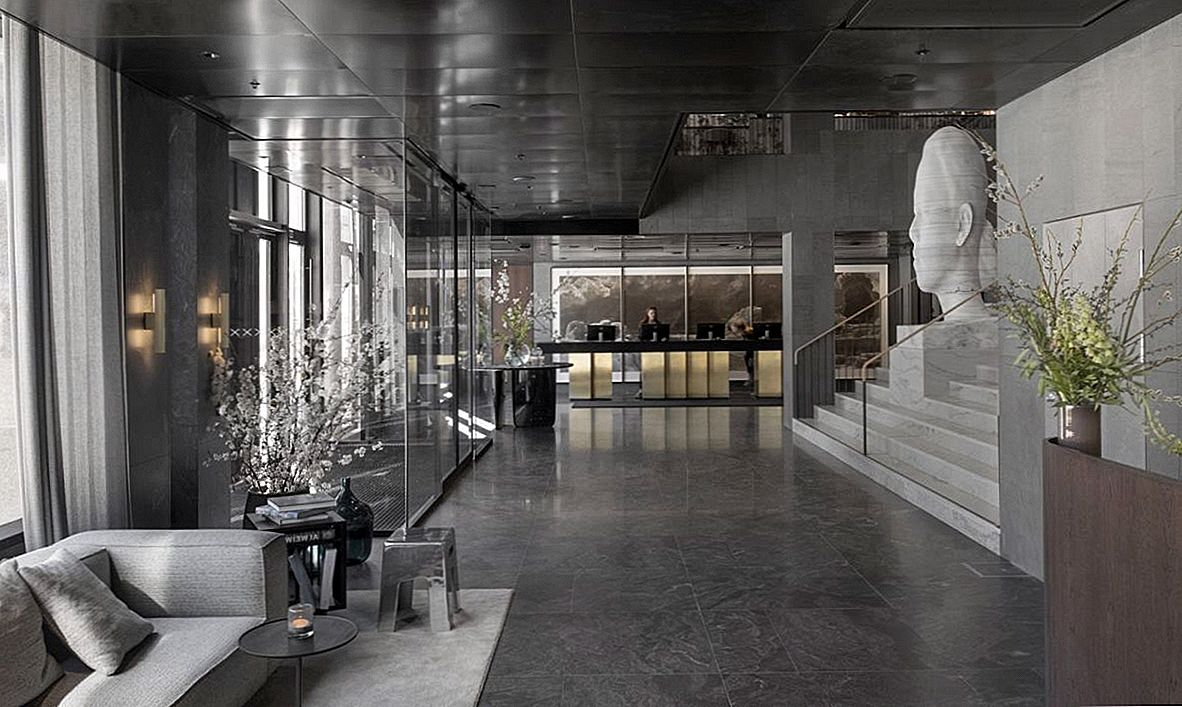 Tidigare Brutalist Bank Building Transformed into Hip Stockholm Hotel