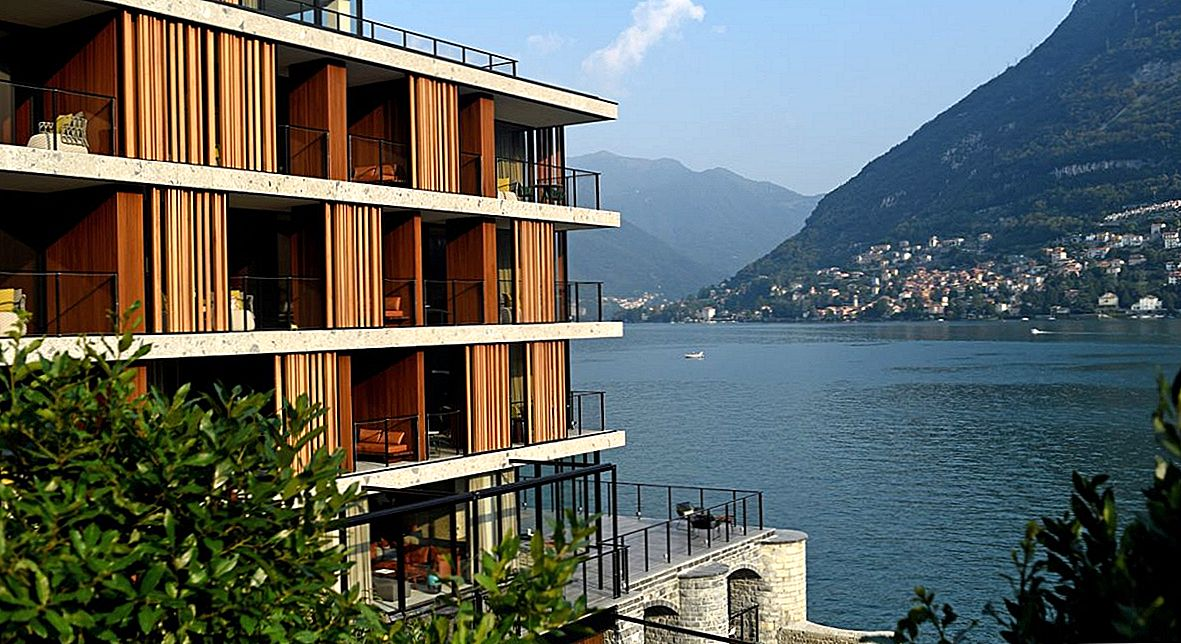 Lake Como Hotel Features Top Design, spectacular views