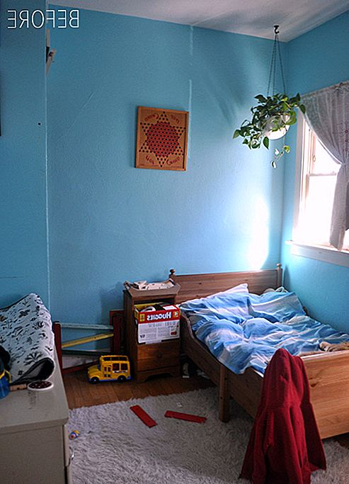 Before & After: Cheap Kids Bedroom Transformation