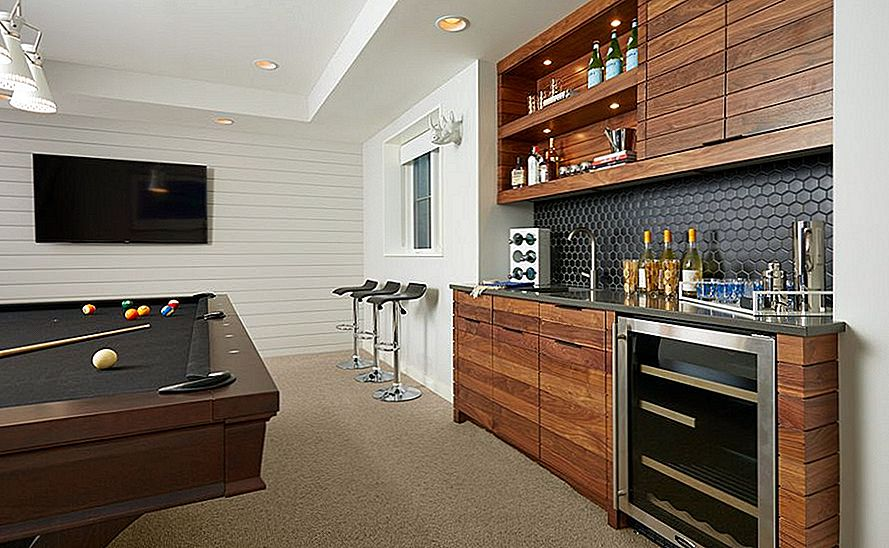 Clever Basement Bar Ideed: Making Your Basement Bar Shine