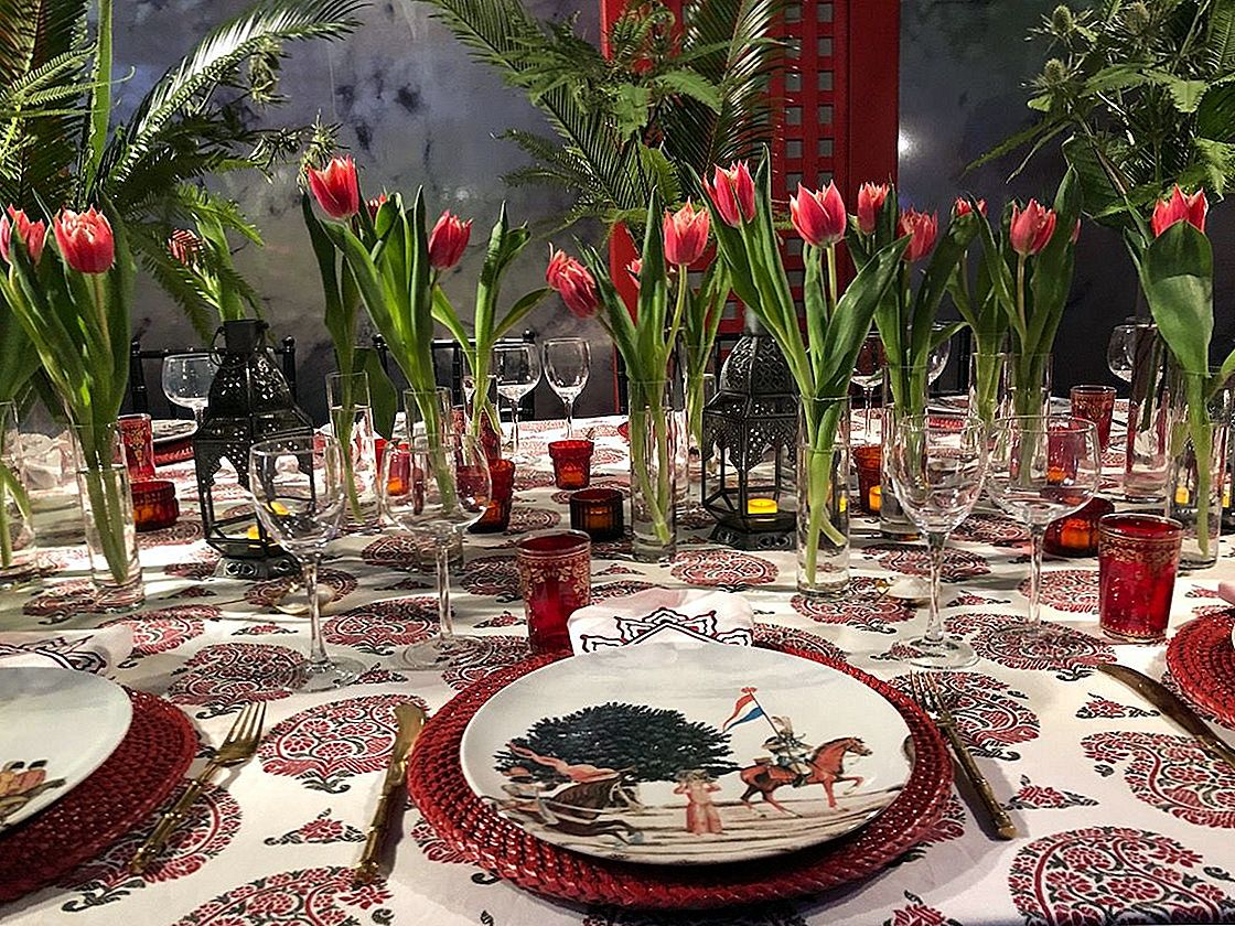 "Dreamy Tablescapes, įkvėptas ""Dining by Design 2018"""