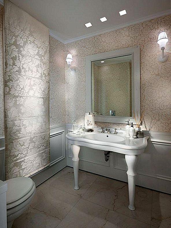 Metal Leaf Walls, podebljani izbor za glamurozni dekor