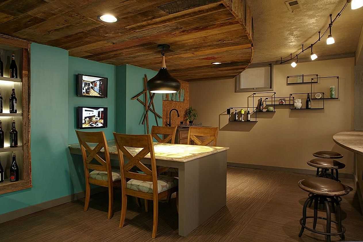 Spice Up Your Basement Bar: 17 ideed Ilus Bar Space
