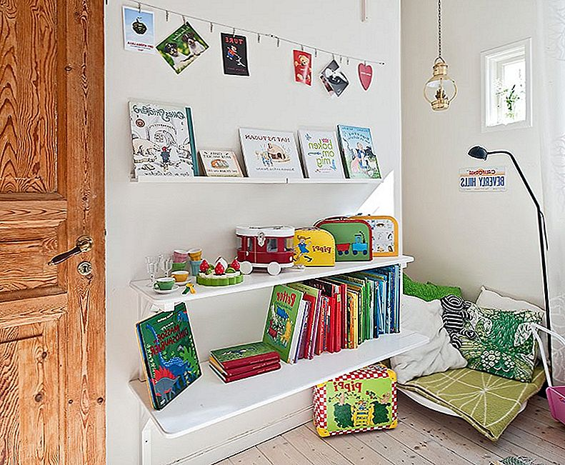 Creative Kids Spaces: alates peita laigud kuni Bedroom Nooks