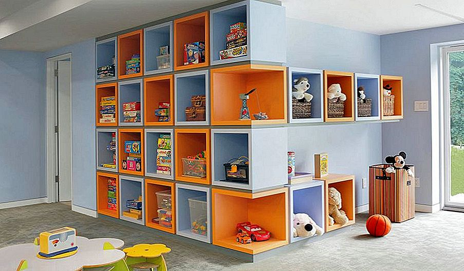 Kid-Friendly Playroom Lagringsideer du bør implementere