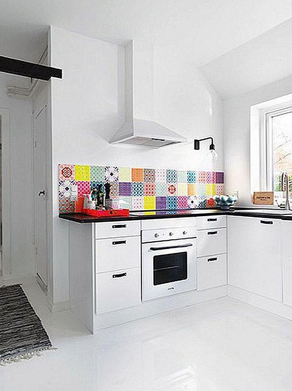 Värvikad köögid Backsplash Ideed Eye-Catching Look