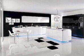 Kumer ja tasakaalustatud kaasaegne köögimööbel: IT-IS köök