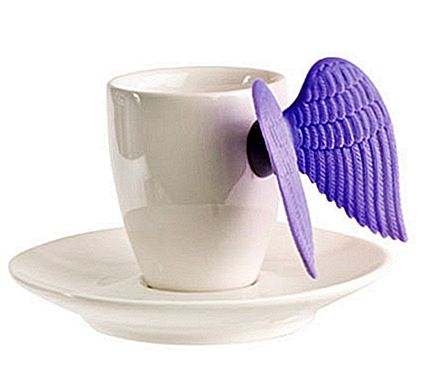Putto Espresso Cup and Saucer - Winged Cup