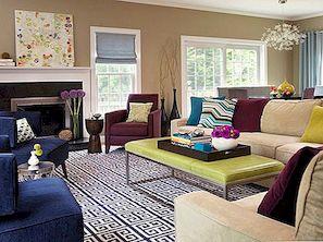 Iedvesmojošie dzīvojamā istaba modeļi, kurus jums vajadzētu nozagt