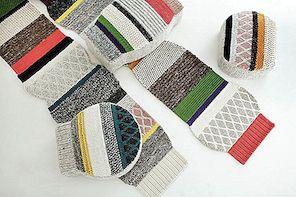 Mangas paklāji un pūkas Designed by Patricia Urquiola par GAN paklājiem