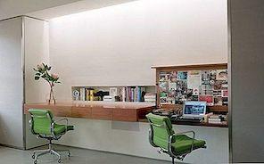 10 Eleganckie, stylowe i zajmujące mało miejsca, pływające biurka