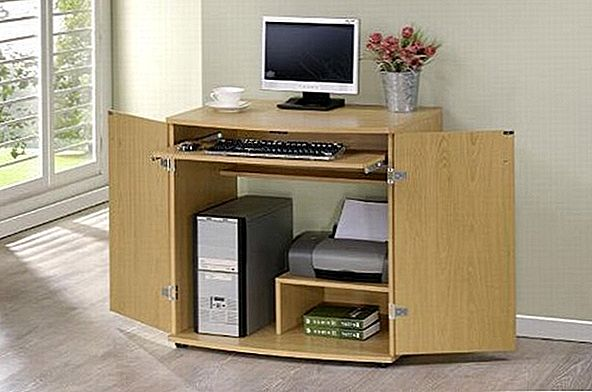 Lovely Computer Desk / Table Armoire