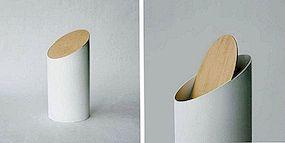 Minimalistisk kasse av Shigeichiro Takeuchi