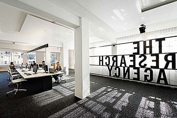 Simple and Contemporary Research Agency Office i Nya Zeeland