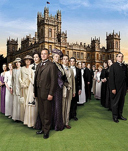 """Downton Abbey"" elukoht"