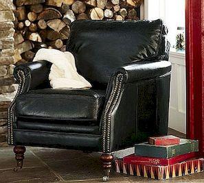 Bilson ādas klubu krēsls