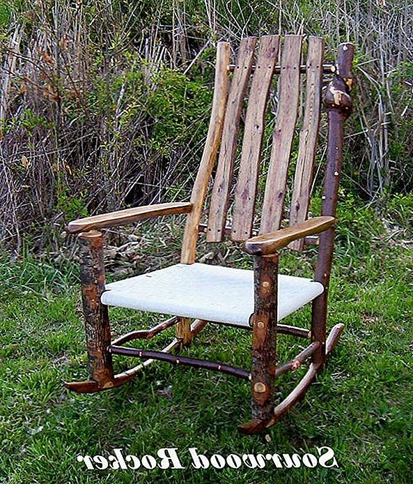 Traditsiooniline Sourwood Rocking Chair